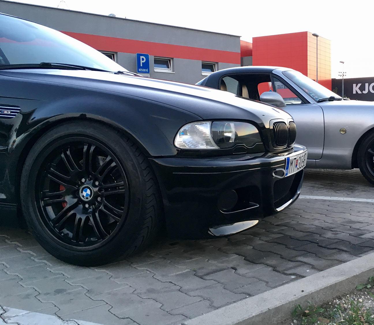 BMW e46 M3 HSD Tlmice