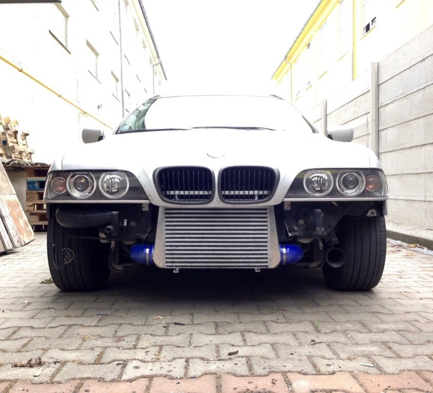 BMW E39 530d Intercooler